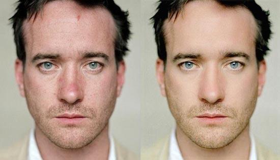 Avant/après les retouches de Photoshop - 6