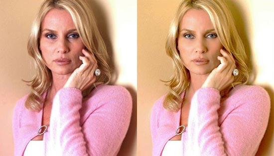 Avant/après les retouches de Photoshop - 7