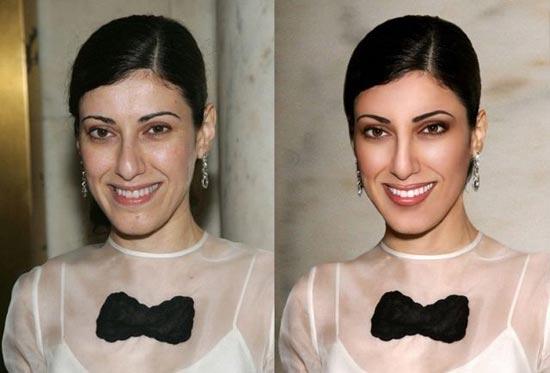 Avant/après les retouches de Photoshop - 11