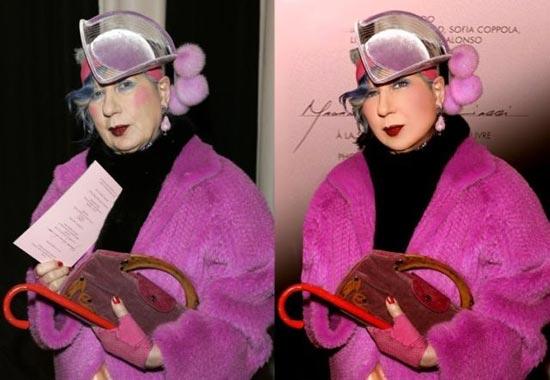 Avant/après les retouches de Photoshop - 12