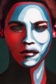 Magnifiques make up art : 2D Or not 2D par Valeriya Kutsan