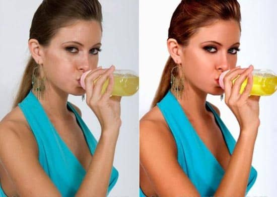 Avant/après les retouches de Photoshop - 15