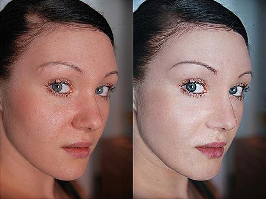 Avant/après les retouches de Photoshop - 19