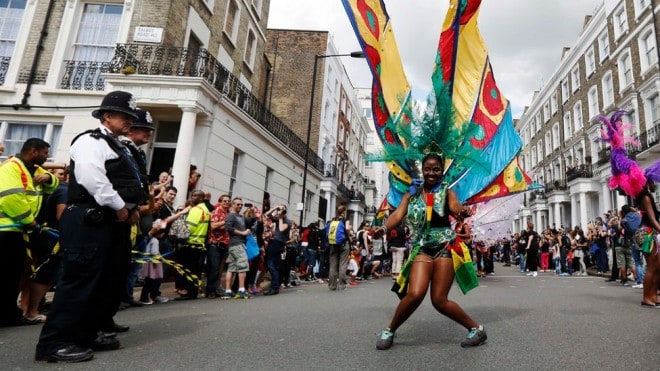 Carnaval de Notting Hill en Angleterre - 2