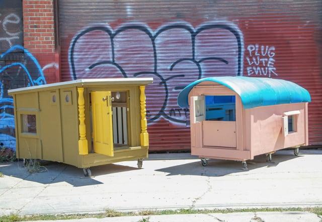 Architecture, cabane mobile pour SDF - 11