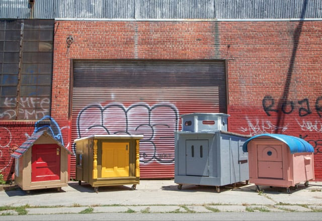 Architecture, cabane mobile pour SDF - 2