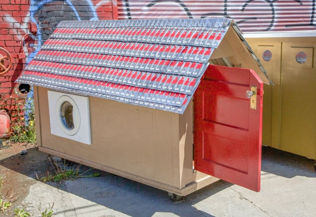Architecture, cabane mobile pour SDF – 5