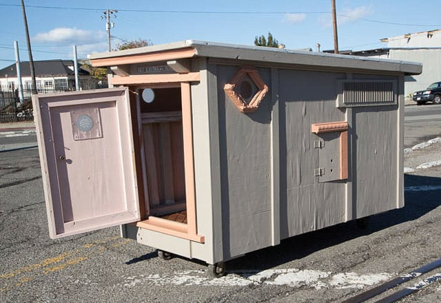 Architecture, cabane mobile pour SDF - 6