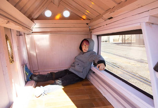 Architecture, cabane mobile pour SDF - 8