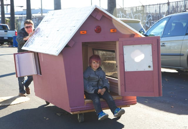 Architecture, cabane mobile pour SDF - 9