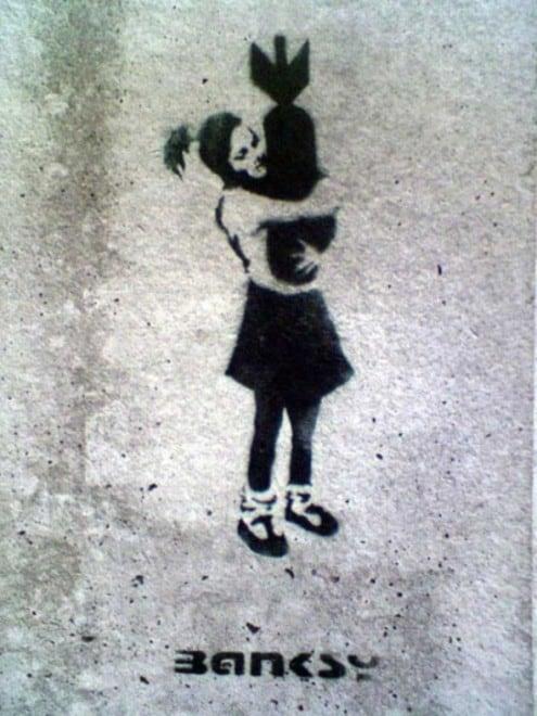 Bansky du dessin à la réalité – 5