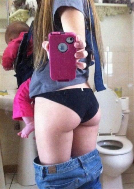 Les pires selfies de mères - 9