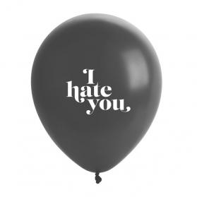 Dites à vos ennemis que vous les aimez et dites-le avec des ballons