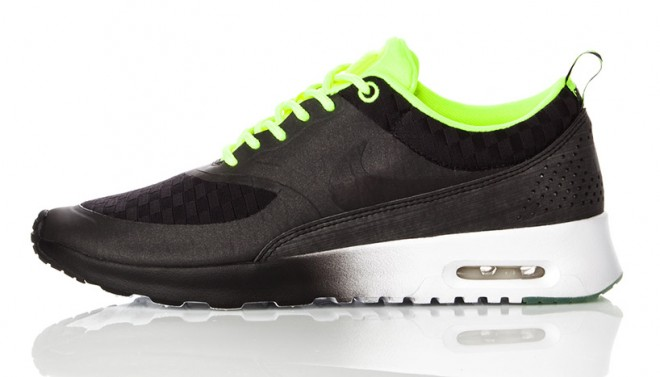 Baskets Nike Celsetial en noir et vert – 7