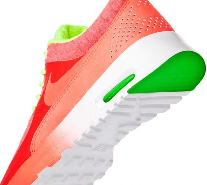 Baskets Nike Celsetial en orange et vert – 1