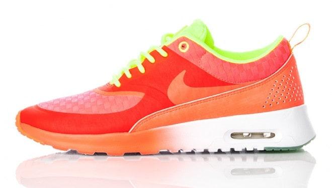 Baskets Nike Celsetial en orange et vert – 2