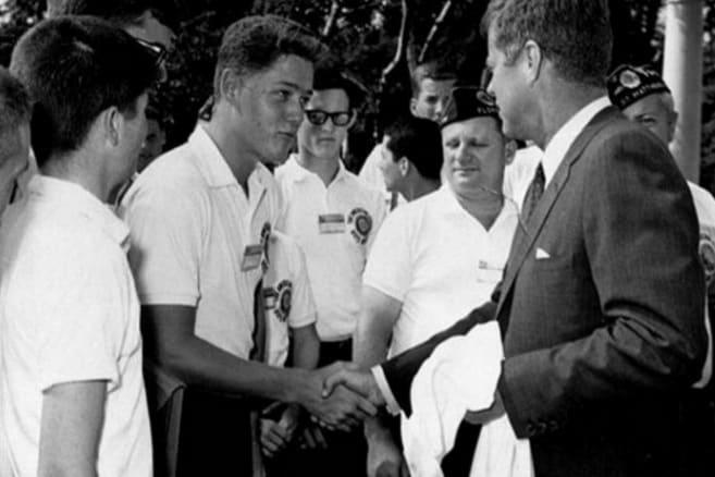 Bill Clinton et John F. Kennedy