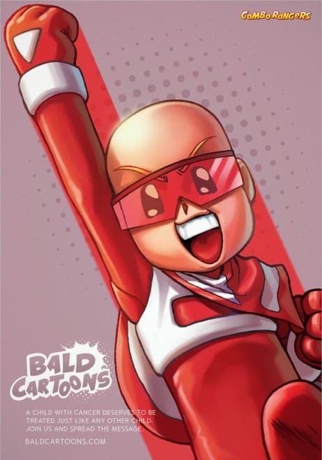 Cancer, dessin animé pour soutenir les enfants - 2