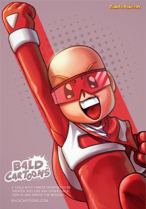 Pour soutenir des enfants atteints d'un cancer, les personnages de dessins animés se rasent la tête