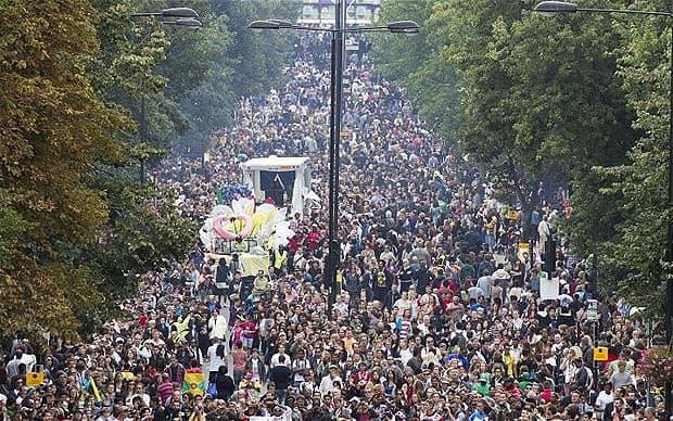 Carnaval de Notting Hill en Angleterre - 9