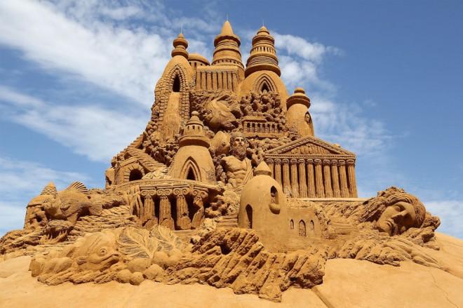 Sculptures de sable – Chateau Atlantis – 2