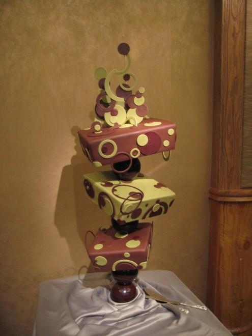 Gâteau sur 3 étages