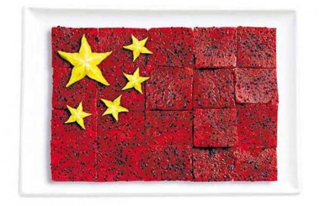 Cuisine – drapeau – Chine – 2
