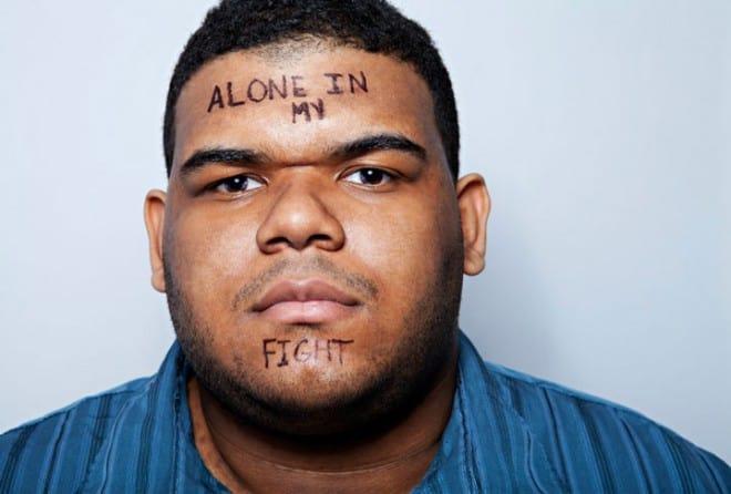Des mots inscrits sur le corps pour exprimer le mal-être – 10