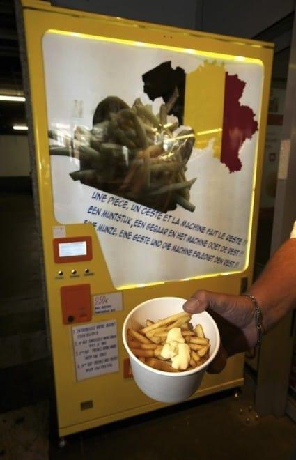 Distributeurs de frites – Belgique 3