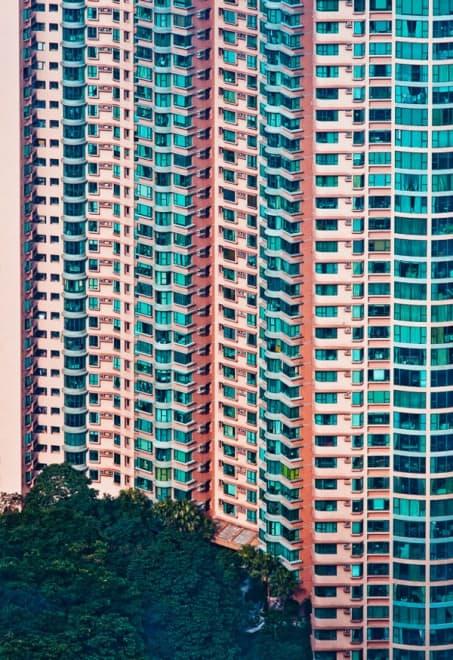 Facades Hong Kong par Meimo Pettinnen – 1