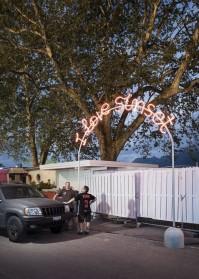 Promenade lumineuse pour le Festival de Jazz de Montreux 2013