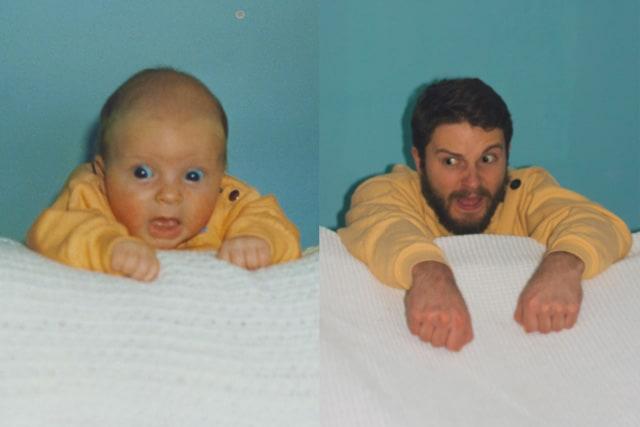 Flashback des photos d'enfants de deux frères – 3