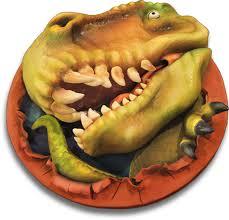 Gateau Dinosaure