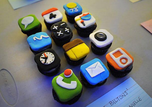 Gateau Geek iPhone