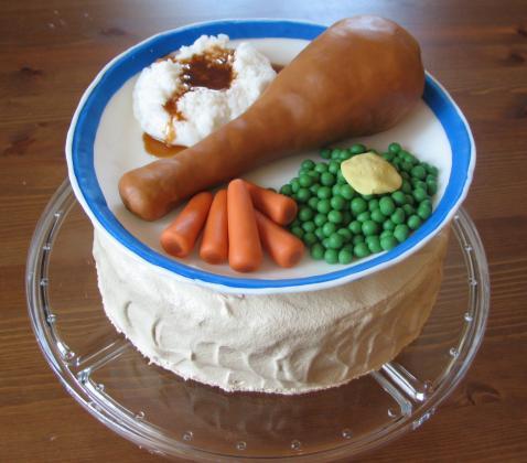 Gateau Poulet carotte