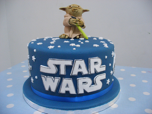 Gateau Star wars Yoda