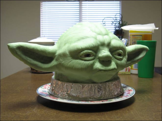 Gateau Yoda