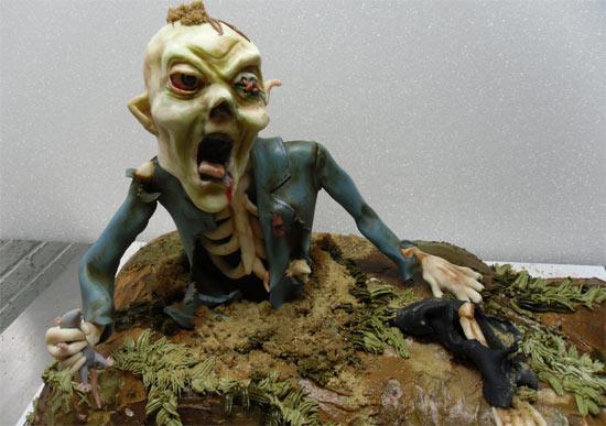 Gateau Zombie