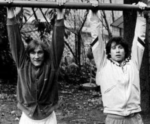 Gérard Depardieu et John Travolta