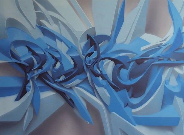 Graffiti tompe l'oeil par Peeta – 3