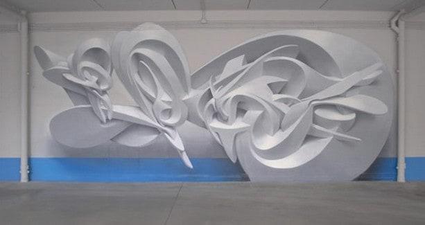 Graffiti tompe l'oeil par Peeta – 6