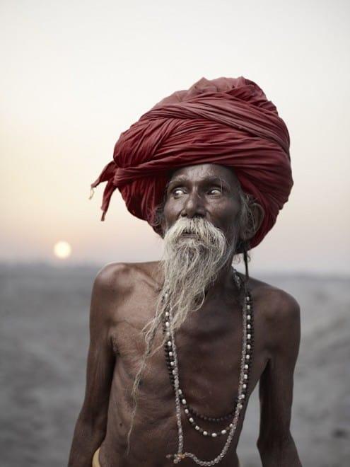 Hommes les plus spirituels d'Inde – Photographie – 2