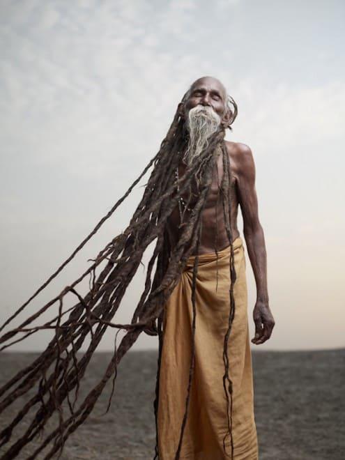 Hommes les plus spirituels d'Inde – Photographie – 3