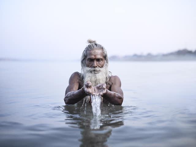 Hommes les plus spirituels d'Inde – Photographie – 9