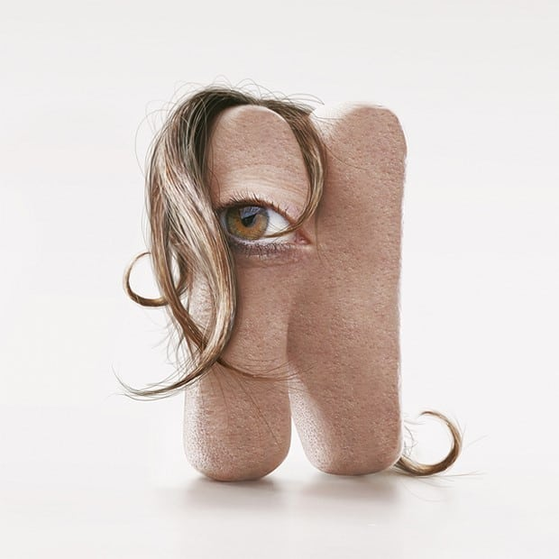 Typographies humaines incroyables de JC Debroize – 1