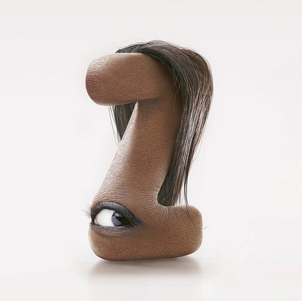 Typographies humaines incroyables de JC Debroize – 4