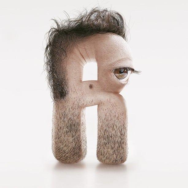 Typographies humaines incroyables de JC Debroize – 5