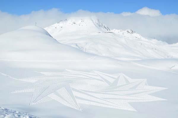 Marcher dans la neige - 6