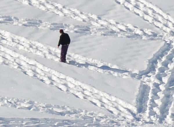 Marcher dans la neige – 7