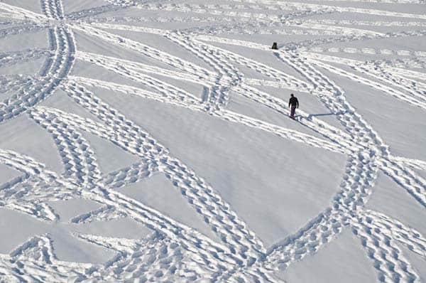 Marcher dans la neige – 8